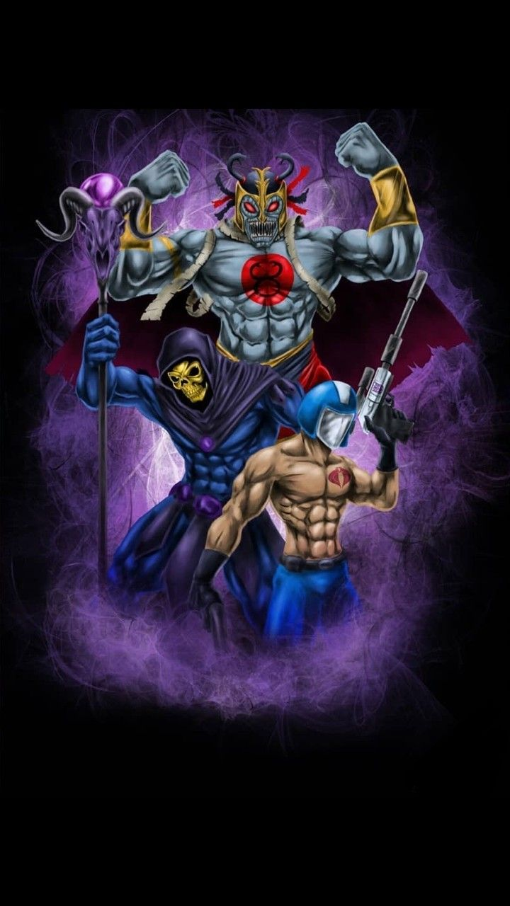 skeletor vs cobra commander - 720×1280