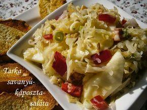 Hankka: Tarka savanyúkáposzta-saláta