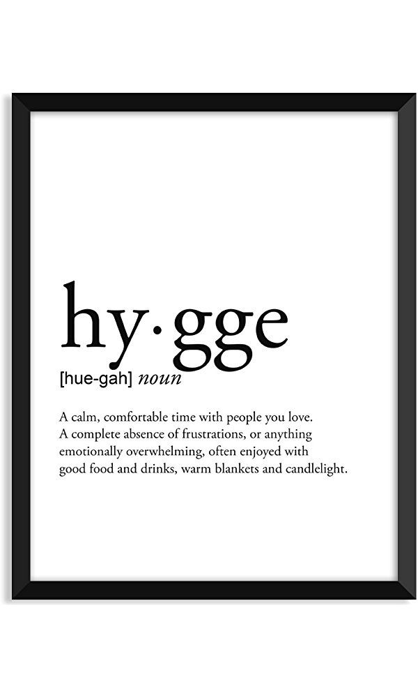Hygge definition, college dorm room decor, dorm wall art, dictionary art print, office decor, minimalist poster, funny definition print, definition poster, inspirational quotes Best Price