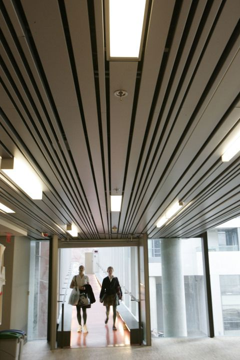 Metal Ceilings - Multi-Box Series ceiling system / Hunter Douglas Contract