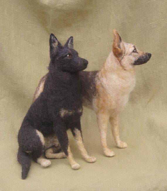 Hey, I found this really awesome Etsy listing at https://www.etsy.com/listing/125219866/needle-felted-dog-custom-portrait-of