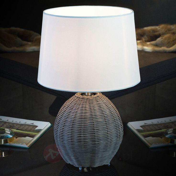 ROIA – lampa stołowa na plecionej podstawie 3031558