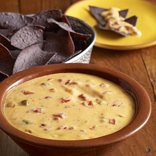 Queso dip recipe with chopped chipotle pepper in adobo sauce for a little smoky flavor.Velveeta® is a registered trademark of Kraft Foods, Inc.  Ro*Tel® is a registered trademark of ConAgra Foods RDM, Inc.