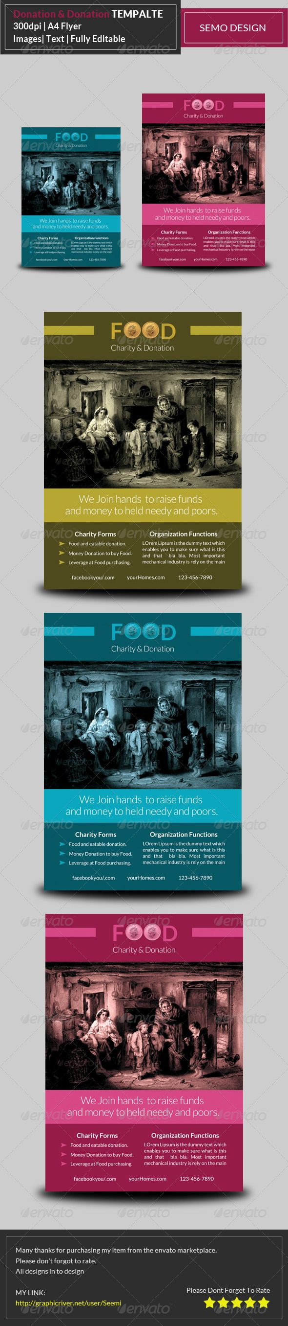 172 best images about FlyersLeafletposters board – Donation Flyer Template