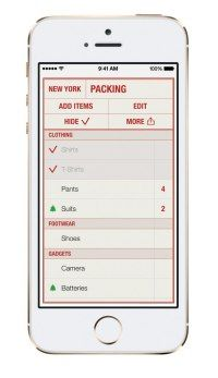 Packing Is Never Fun: This App Makes It Easier