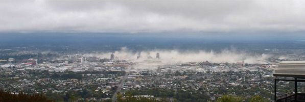 Print of the Christchurch Earthquake Photograph for sale at New Zealand Fine Prints