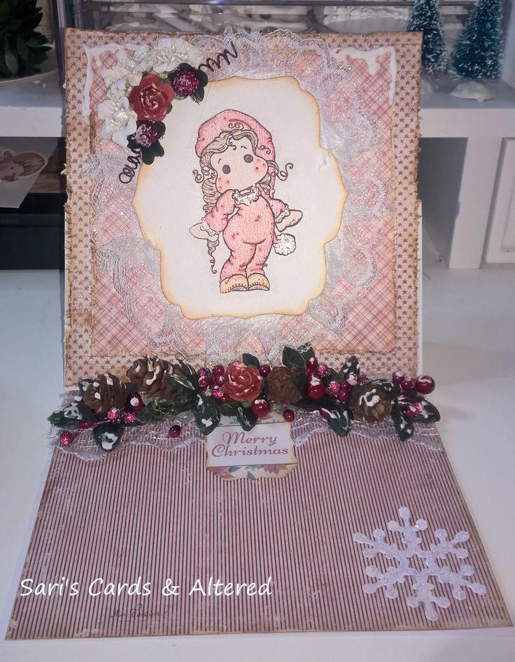 Magnolia tilda christmas card