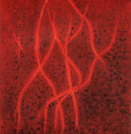 "Erna Rosenstein: ""Die Stille brennt"", 1996.  Fot. Jacek Kuchraczyk"