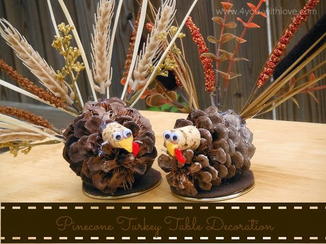 Best ideas about pinecone turkey on pinterest pine
