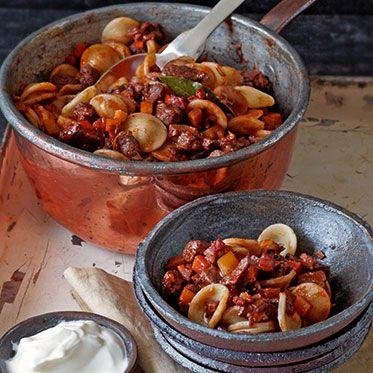 Orecchiette mit Wildschwein-Ragout Rezept   Küchengötter