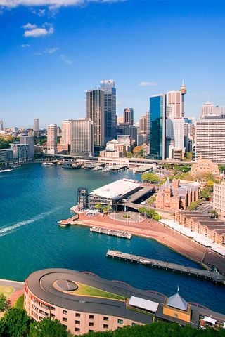 Downtown Sydney, The Rocks area, Australia This place is on my list of places to visit...