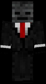 Minecraft скины в костюме
