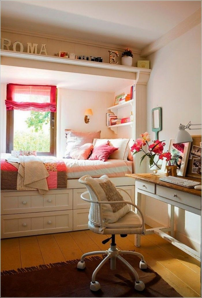 Cute Girl Bedroom Decorating Ideas (154 Photos)