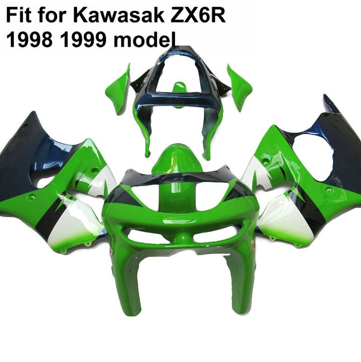 (335.79$)  Watch now - http://ai5bf.worlditems.win/all/product.php?id=32796747269 - Aftermarket body parts fairing kit for Kawasaki ninja zx6r 1998 1999 deep blue green fairings set ZX6R 98 99 IU20