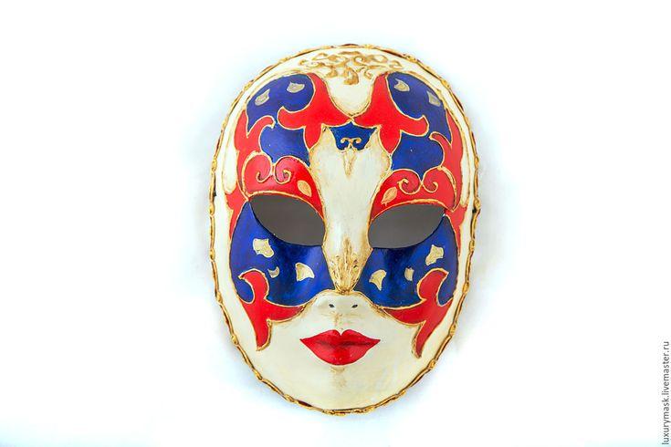 Купить Венецианская карнавальная маска Mosaic - комбинированный, маска, карнавальная маска, карнавал, венеция