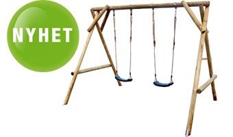 Lekställning / Gungställning i trä