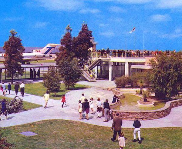 Perth airport, 1960s