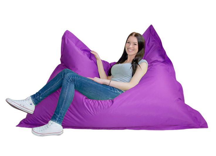 real riesensitzsack grijzemuren. Black Bedroom Furniture Sets. Home Design Ideas