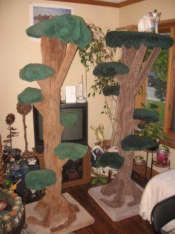 Jungle room realistic cat tree #rrrcattree