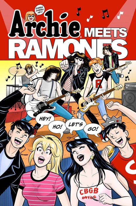 An Archies/Ramones comic book is an actual thing that is going to happen | Dangerous Minds #Ramones