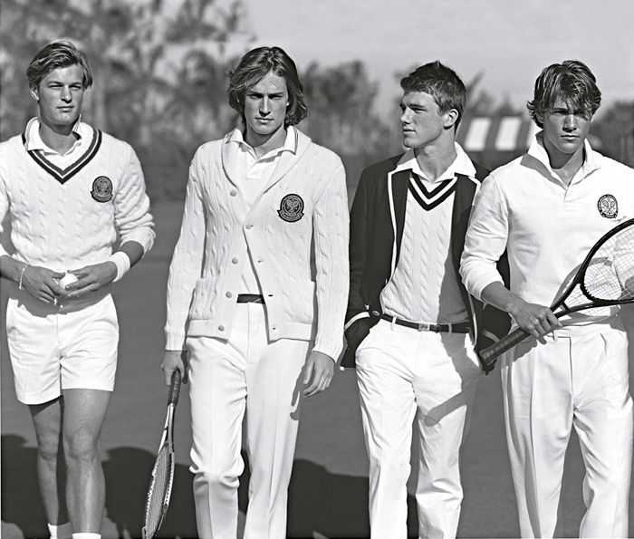 In 2006, Ralph Lauren became the first designer in the Wimbledon Championships' 129 year history to be chosen to create uniforms for all on-court officials