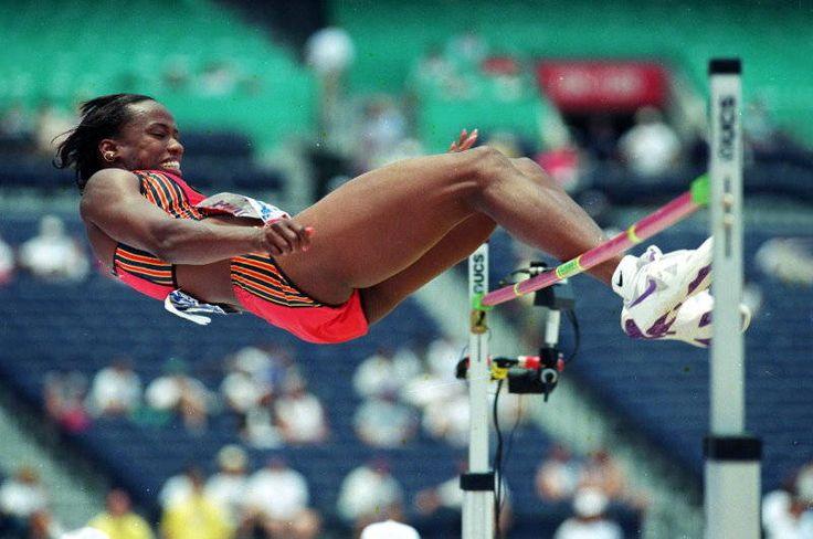 Jackie Joyner-Kersee | Jackie Joyner-Kersee, high jump, team trials, 1998 Atlanta Olympics