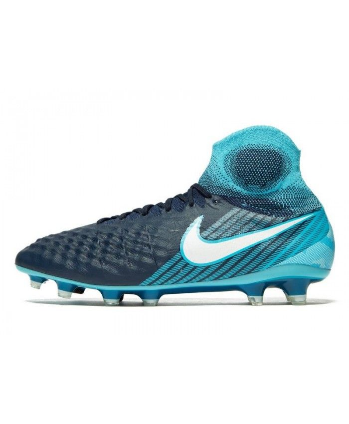 396cc7210390 Men s Nike Fire and Ice Magista Obra FG Blue Sneakers 294224