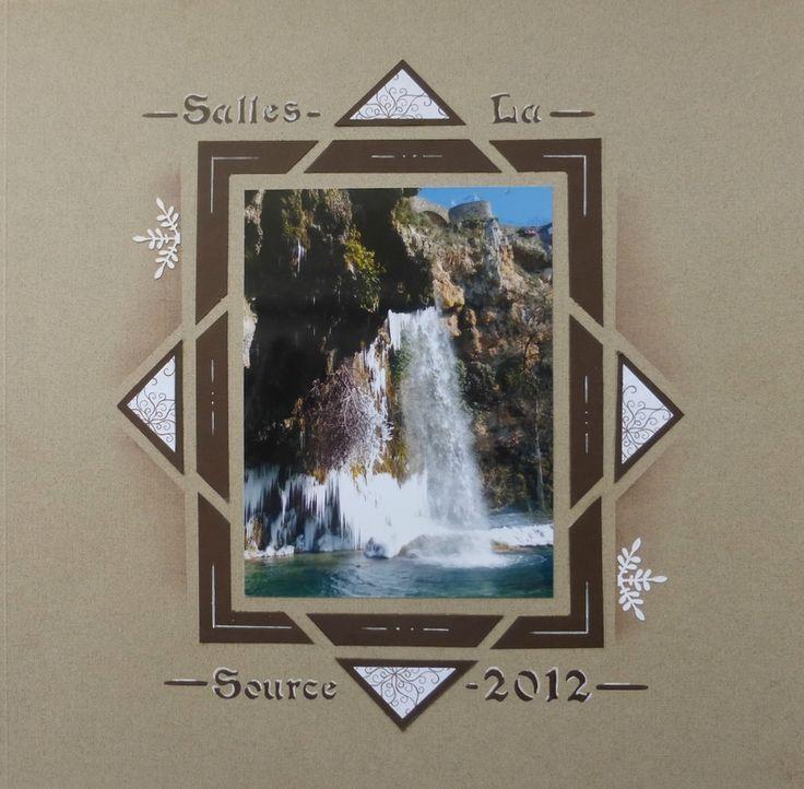 gabarit Canaries et alphabet Bella Azza (Passion Scrap Aveyron)