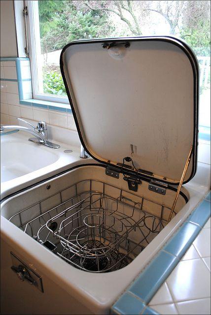1948 GE Dishwasher - It Works!! by American Vintage Home, via Flickr