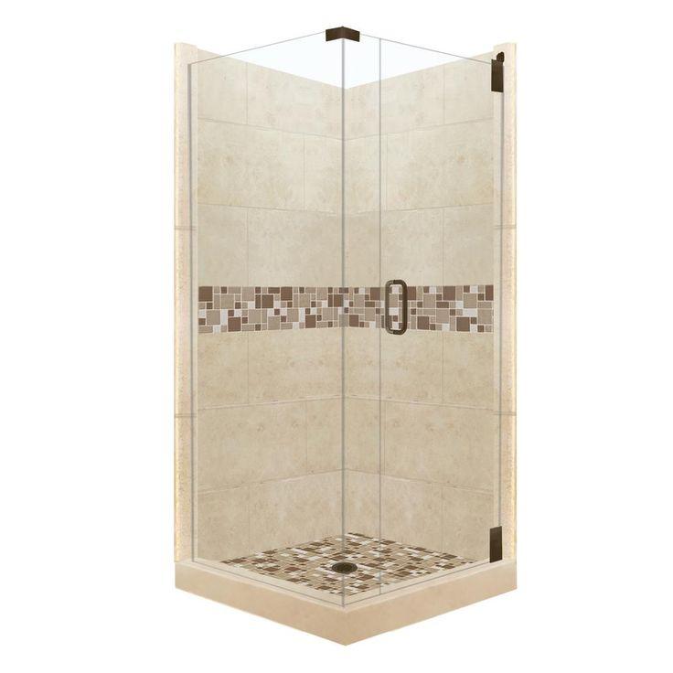 36 x 36 corner shower kit. corner shower kits - google search. american bath factory tuscany grand hinged 36 in. x 80 in kit
