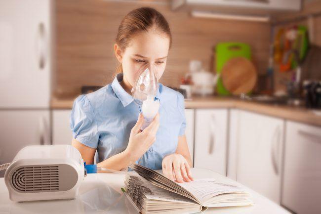 Горячая ингаляция с эфирным маслом - эффективное средство от простуды