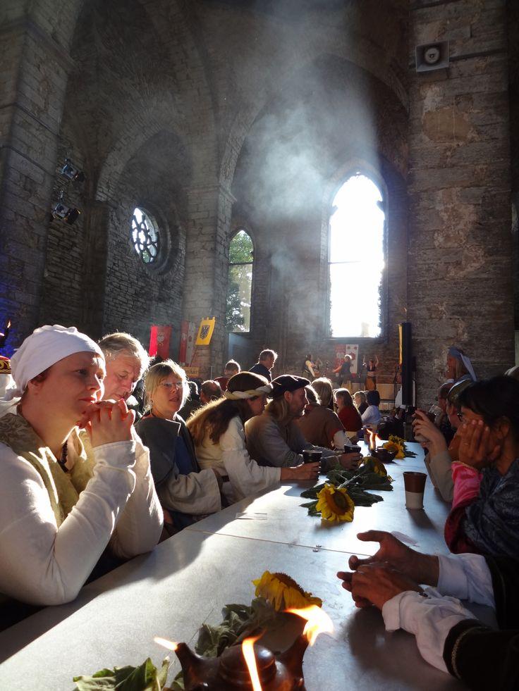 Een hele week feest: http://www.medeltidsveckan.se/ foto: Merry Folk