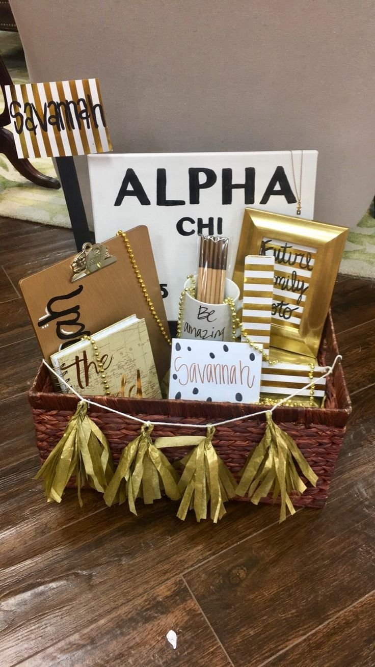 Alpha Chi Omega Big Little Gifts