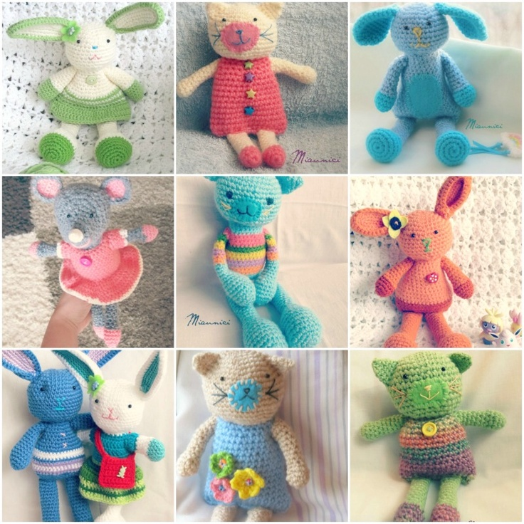 soft toys made by yarn