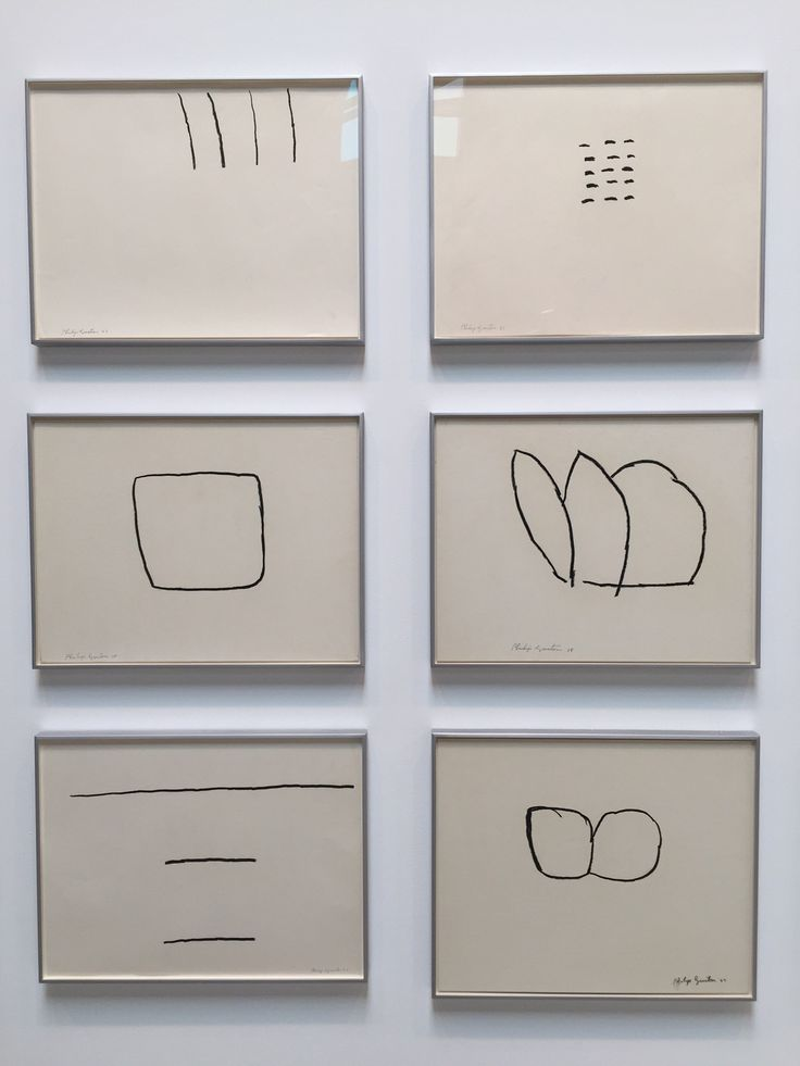 Philip Guston - drawings photographed at Hauser & Wirth gallery, NYC, 2016