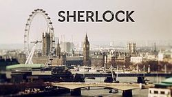 Sherlock is a British crime drama that presents a contemporary update of Sir Arthur Conan Doyles Sherlock Holmes detective stories. It stars Benedict Cumberbatch as Sherlock Holmes and Martin Freeman as Doctor John Watson. Six episodes, broadcast since 2010, have been produced, with three more episodes scheduled to begin production in March 2013.