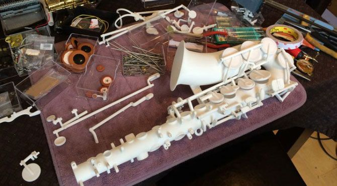 Sonunda 3D yazıcı ile saksafon ürettiler...