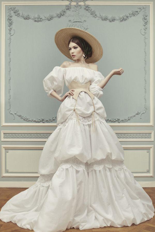 Ulyana Sergeenko Couture Spring/Summer 2013 Lookbook | Photographer: Nick Sushkevich