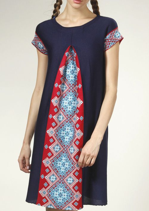 Great dress with ukrainian pattern from Rito