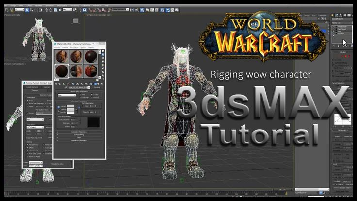 Rigging character in 3ds max - Wow