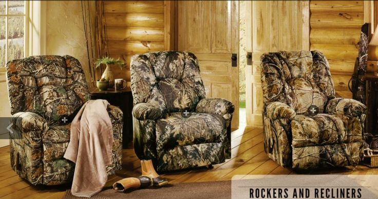 Shop These Camo Recliners For Your Cabin Decor