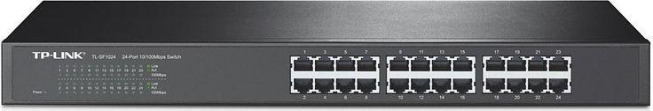 TP-Link TL-SF1024 24-Port Fast Ethernet 10/100Mbps 19-inch Rack Mount Switch #TPLink