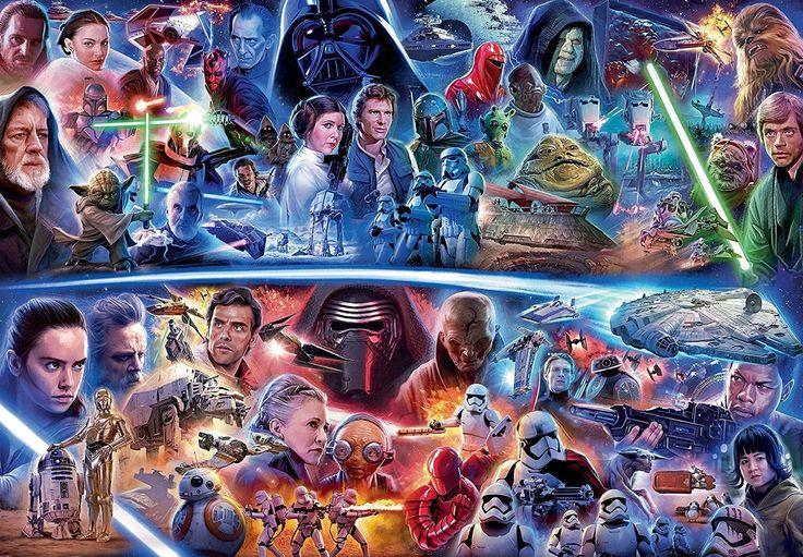 'Star Wars': en busca del orden definitivo para ver la saga ahora que tenemos Disney+ Star Wars Rebels, Clone Wars, Disney Actual, Saga Art, 9 Film, Mark Hamill, Fandom, Rogues, Cool Things To Buy