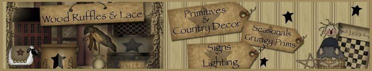 Primitive Table Risers, Wood Decor, Home Decor, Country Decor