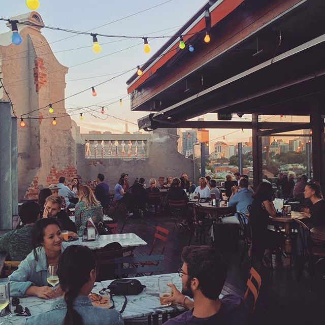 It's all about the rooftop bars in Melbourne