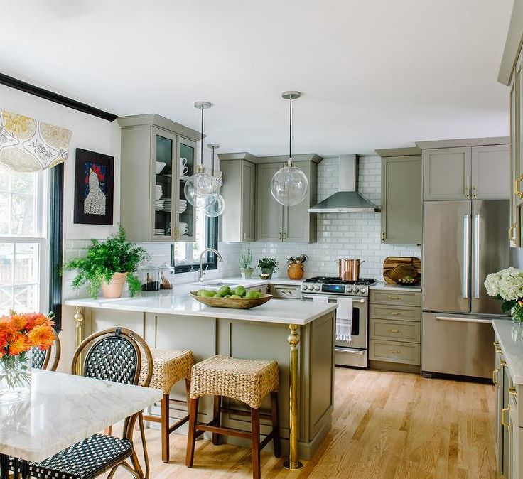 Kitchen Peninsula Pictures: 25+ Best Ideas About Kitchen Peninsula On Pinterest