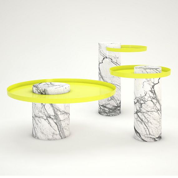 Stand out with your interior: add this new  #Salute table by #SebastianHerkner for #LaChance