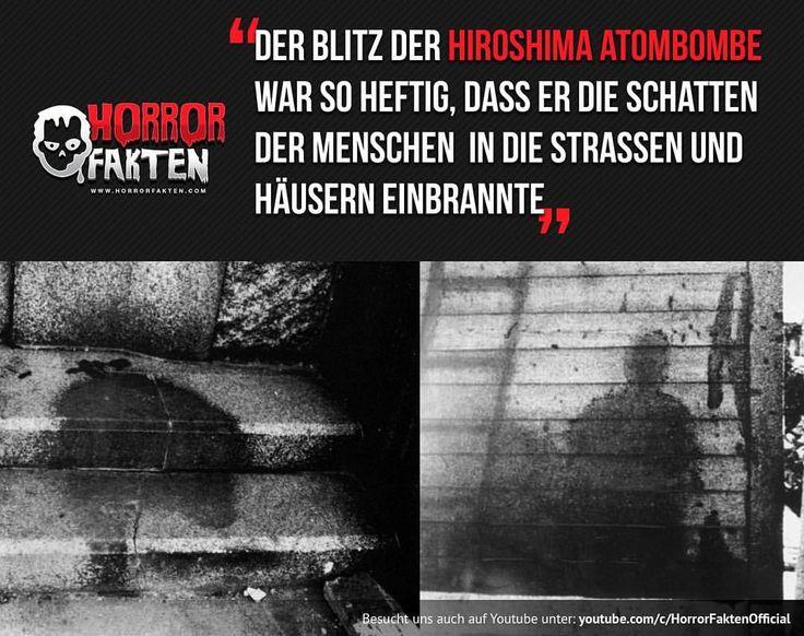 Atombombe Hiroshima #horrorfakten