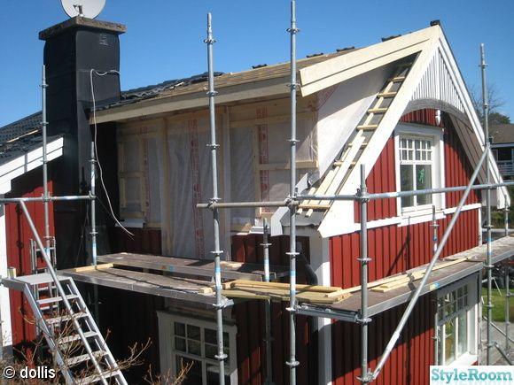 Bildresultat för takkupa 50-talshus
