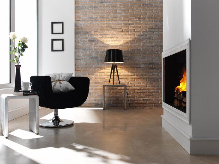 Die besten 25+ Wandgestaltung wohnzimmer steinoptik Ideen auf - wohnzimmer design steinwand